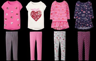 NEW Gymboree girls VALENTINES SHOP tee leggings size 4 5 6 7 8 YOU PICK