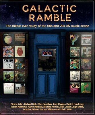 GALACTIC RAMBLE - UK psych / jazz / folk / prog book - MASSIVE NEW EDITION