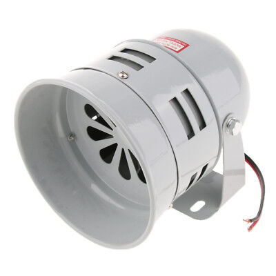 24V 110dB Industrial Loud Security Sound Alarm Buzzer Siren Wall-mounted