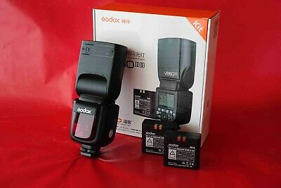 Godox V860IIS TTL Flash for Sony Cameras, extra battery and X1 trigger
