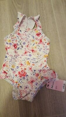 044d5989ec2ff Baby Girl Swimsuit Bundle 3-6 6-9 months swimsuits mothercare   primark New