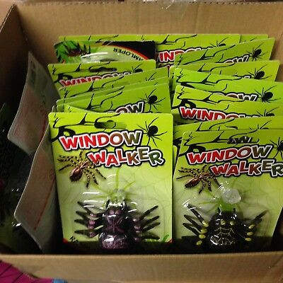 Hob Lot Of 20 Window Walker Spider Toys Fete Resell