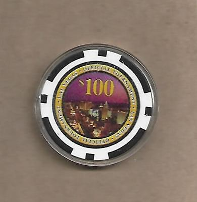 """$100 *las Vegas* (Tournament Gaming Chip)  """"""""look""""""""collector  Chip"""