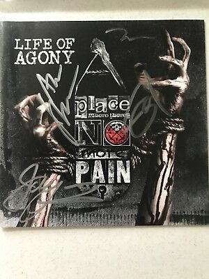 Life Of Agony * Autographed Signed New Cd * Mina Caputo * Sold Out Record Promo
