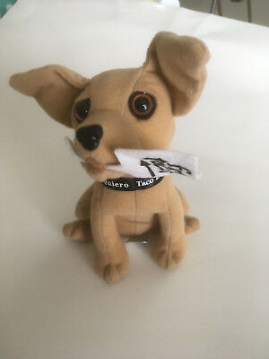 Taco Bell Chihuahua Stuffed Dog Free Tacos Sign
