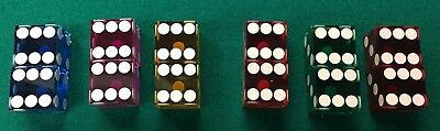 Pairs of 19mm Dice