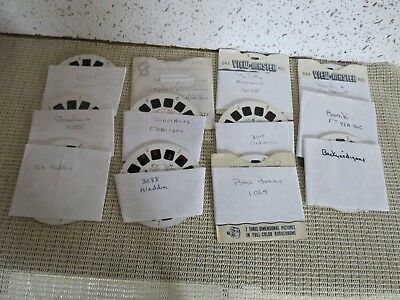 12 sets of Viewmaster Reels