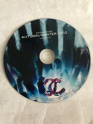 Chanel Autumn Winter 2012 Message Mode DVD Runway Highlights USED