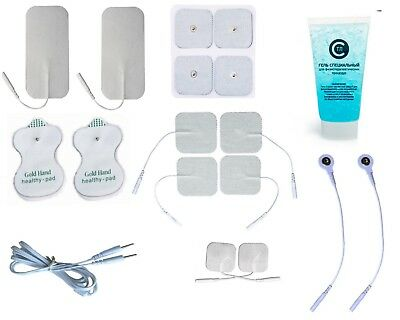 Electro Therapy Kit with connect to Device DENAS PCM , SET of Snap & Pin PADs
