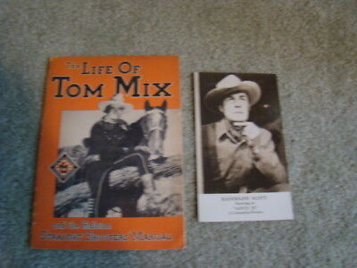 The Life Of Tom Mix & The Ralston Straight Shooters' Manual, 1933