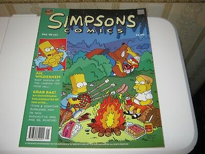 The Simpson's Comic Number 21/December 1998/Large Format UK/Bart Simpson (New)