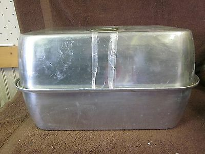 "Buffet Chafing Alunimun Rectangle Serving Dish 16"" x 11 1/2"" x 9 1/2"""
