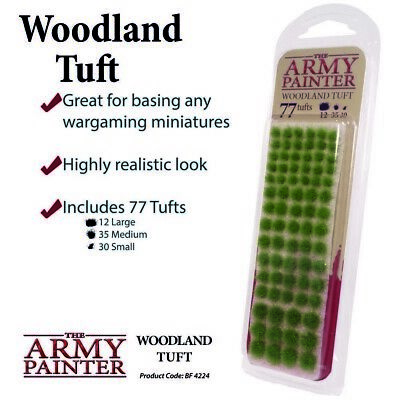 Woodland Tuft The Army Painter Brand New AP-BF4224