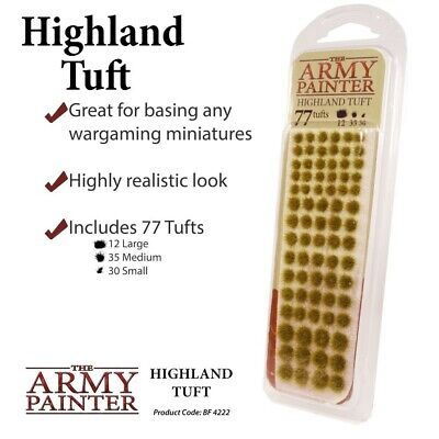 Highland Tuft The Army Painter Brand New AP-BF4222