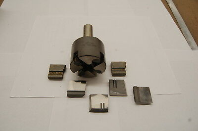 """Brown & Sharpe 3/4"""" Combination Roughing & Finishing Adjustable Hollow Mill"""