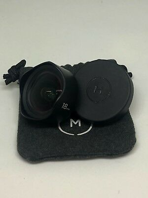 Moment Lens V1, 18mm, Wide Angle, Cellphone Photography And Lens Cap