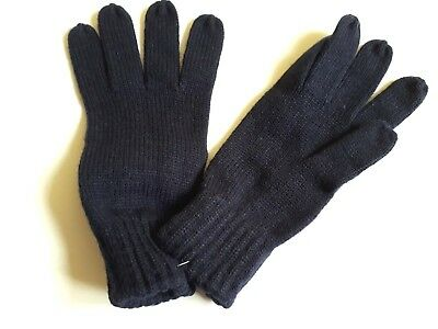 Mens Firetrap Winter Thick Construct Cable Knit Gloves