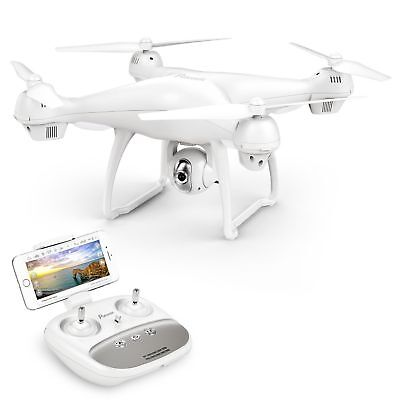 Potensic Dual GPS FPV RC Drone, 1080P Camera Live Video and GPS Return Home T35