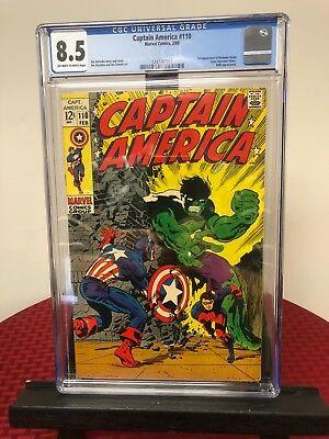 Captain America 110 (CGC Graded) 1st appearance of Madame Hydra.