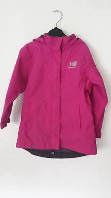 6fcd822e5 KARRIMOR GIRLS 3 In 1 Winter Coat Age 9-10 Black And Pink - £7.50 ...