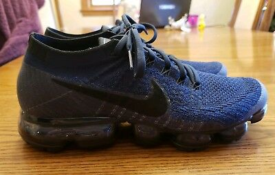 Men's Nike Air Vapormax Flyknit Blue Size 9