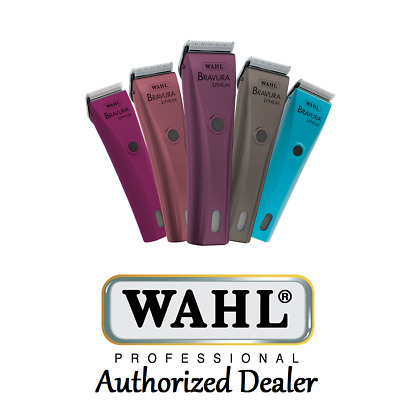 Wahl Professional Animal Bravura Lithium Pet Clipper For Dogs, Cats, Horses +