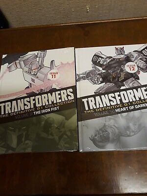 Transformers The Definitive G1 Collection X2 New And Sealed