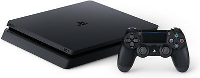 Sony PlayStation 4 (PS4) Slim 1tb Jet Black Console w/ accessories!  SHIPS FAST