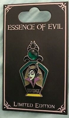 Disney Collector Trading Pin Maleficent Essence of Evil LE