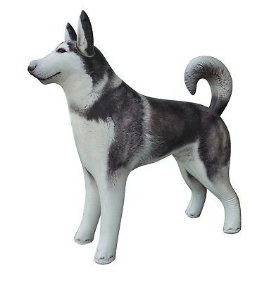 "Inflatable Husky Dog Siberian Alaskan Malamute Pet Animal 32"" L Party sale"