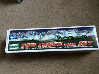 Hess 2010 Toy Truck and Jet New in Original Box With Insert