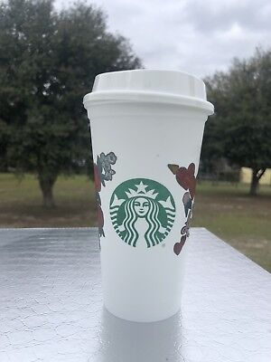 STARBUCKS Valentines Reusable Plastic 16oz HOT  Cup 2019