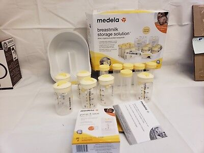 Medela Breastmilk Storage Solution Store Organize Protection Convenient Easy