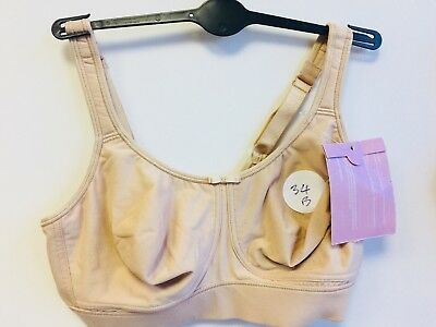 1555e884fc649 2 Marks and Spencer s Post Surgery Bras (Inc Sports Bra ) Size 34B BNWT