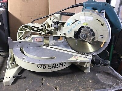 Makita LS1013 double bevel sliding mitre saw 260mm 110V