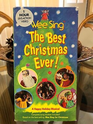 Wee Sing The Best Christmas Ever Vhs.Wee Sing The Best Christmas Ever Vhs 1990 Live Video A Happy Holiday Musical