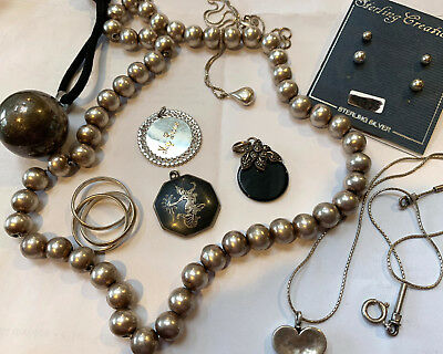 96 GRAMS ALL GOOD STERLING SILVER Jewelry