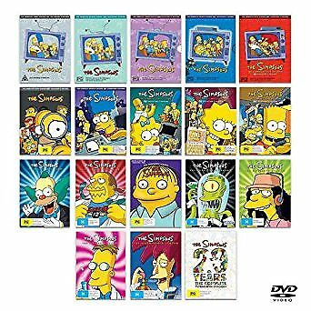 The Simpsons: Complete Series Season 1-18 + 20 DVD Ultimate Collection Set | NEW