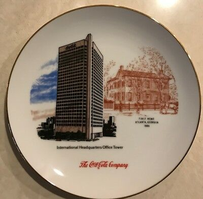 Vintage 1986 Coca Cola Employee Limited Edition 100th Anniversary Porcelain Dish