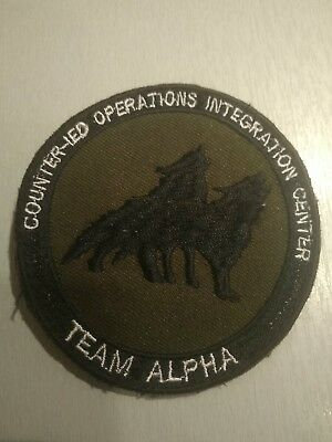 Patch OPEX Afghanistan Counter IED Operation Integration Center