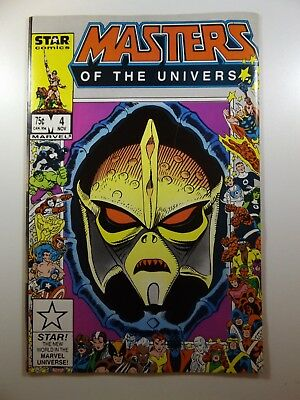 Masters of The Universe #4 Star Comics Series Beautiful VF-NM Condition!!