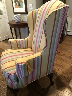 Hendredon Wing Back Chair
