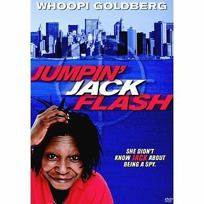 Jumpin' Jack Flash (DVD0 WHOOPI  RARE OOP