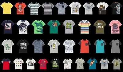 NEW Gymboree boys summer short sleeve tee size 4 5 6 7 8 NWT YOU PICK