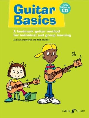 Guitar Basics by James Longworth 9780571532285 (Paperback Book) *NEW* FREE P&P