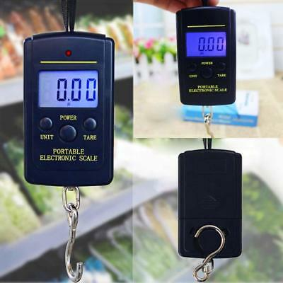 40kg Electronic LCD Hanging Fishing Luggage Pocket Portable Digital Weight Scale