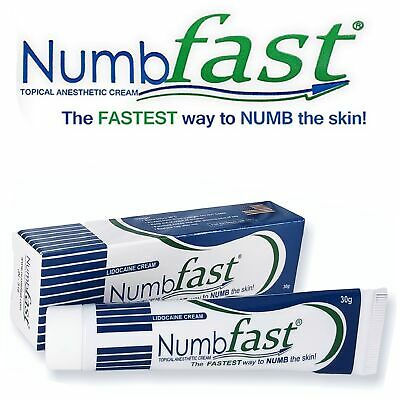 30G NUMB FAST® PainLess Numbing Cream Painless Tattoo Piercing ...