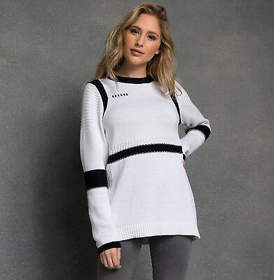 Disney Store Star Wars Pullover Stormtrooper Sweater for Women Her Universe NWT