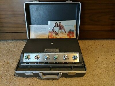 Relax-A-cizor Deluxe Model 28 Weight loss machine, Muscle stimulator Excellent