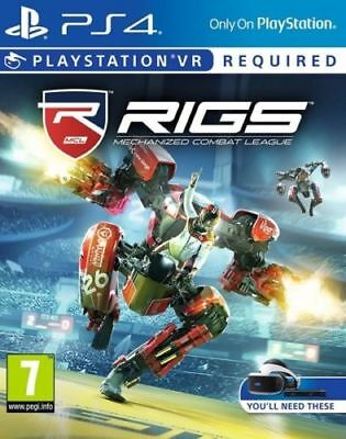 RIGS: Mechanized Combat League (PSVR) (PS4 PLAYSTATION 4 VIDEO GAME) *NEW*